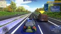 【屌德斯解说】 模拟高速公路警察 逗比警探在大马路上是执勤还是讹钱呐