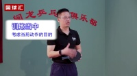 【乒乓找教练】 201 正手两点拉球加上步攻训练