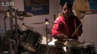 【猴姆独家】强悍!16岁女生精彩架子鼓表演Ke$ha热单Tik Tok!节奏感超强!