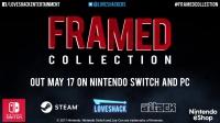 《致命框架 合集》5月17日登陆Switch及PC_二柄APP