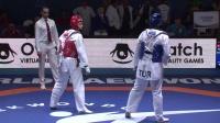 2018世界青年跆拳道锦标赛78公斤以上级决赛