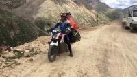 骑车去西藏 川藏线最高点雀儿山载妹子摩旅
