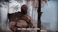 【游民星空】《战神》新作PS4对比PS4 Pro画面
