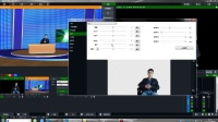 VMIX 直播实时扣像 绿布扣像与虚拟演播厅搭建