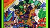第99课自命题创作画二 创意美术儿童画100课