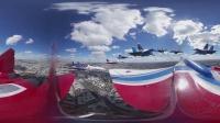 俄罗斯: 独家历史上第一个从战斗机群外拍摄的全景视频