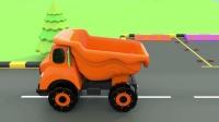 学习颜色与玩具街车辆