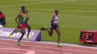 莫法拉2012伦敦奥运会5000米最后100米冲刺慢动作