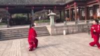 轩德太极 太极对剑 丁尔 刘水芳演示