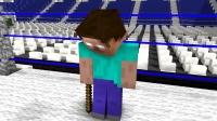 我的世界动画片  前三战怪物的学校Minecraft动画