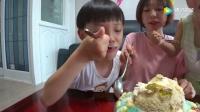《小伶玩具》夏威夷沙滩冰沙甜点DIY 一起来做美食料理吧