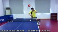 《乒乓球训练日记》第2集:反手拨接正手拉_教学视频