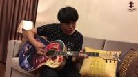 """107王启原创 功夫""""星臣杯""""2017第3届全国吉他弹唱大赛"""
