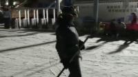 哈哈!滑个铲铲的雪,看得心都蹦出来了