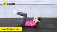 减肥瘦身-一招帮你锻炼下腹