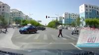 我在交通事故合集20180530: 每天10分钟车祸实例, 助你提高安全意识。截了一段小视频