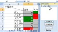 电子表格视频教学excel10_查找定位