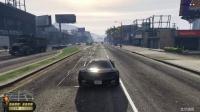 老表解说 侠盗猎车手 GTA5 新手试玩 藐视警察 第二期
