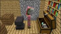 我的世界动画片  骨架的生活—Minecraft动画