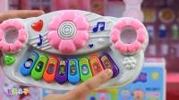 粉红猪小妹玩具小猪佩奇秋千音乐琴玩具