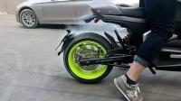 壹酷科技CMT中置电瓶车高速电动摩托车大功率电摩烧胎翘头花样特技
