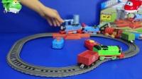 托马斯和他的朋友们 水塔轨道套装 轨道大师 玩具 托马斯小火车7847