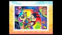 第49课泡泡里的世界 创意美术儿童画100课