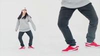 新舞蹈基础教学7-CRAB脚步+月球漫步分解教学