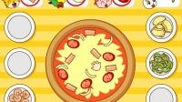 小白兔去小老虎家吃汉堡和披萨 结果吃睡着了
