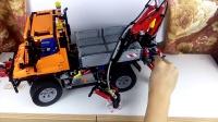 为你演示乐高LEGO科技组8110抓娃娃
