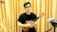 ukulele指弹教程第1课:修饰音技巧《告白气球》 子熏乐器 张SIR尤克里里指弹教学