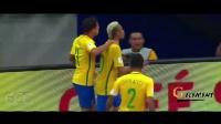 2018年世界杯巴西国家队足球桑巴回归 ● 内马尔 ● 库蒂尼奥 ● 加布里埃尔·热苏斯 ● 威廉 ● 马塞洛