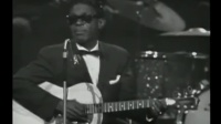 """布鲁斯大魔王Lightnin Hopkins 在""""美国布鲁斯音乐节"""