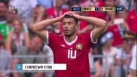 6月20日五大扑救:帕特里西奥扑救摩洛哥任意球 门将穆尼单手挡球
