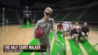 老年人也来一波热血炫技 白发老大爷的篮球之魂点燃了