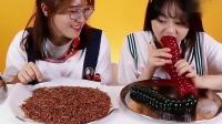 《小伶玩具》到底哪个才是真的食物呢, 夏天姐姐盘子里的是虫子吗