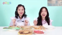 小伶玩具: 挑战三个颜色煎饼绘画啦!