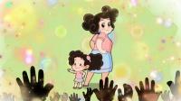 云朵妈妈说她那么年轻的妈妈和那么可爱的女儿,一定会吸引全场的