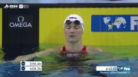 FINA游泳世界杯女400米自由泳决赛