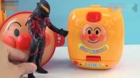 儿童益智玩具, 迪迦奥特曼在快餐店吃拉面, 面包超人送的惊喜玩具