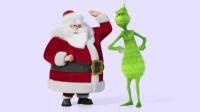 格林奇和圣诞老人互相伦掌,爆笑场景不容错过