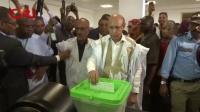 毛里塔尼亚独立选举委员会宣布加祖瓦尼当选总统 国际时政 20190624