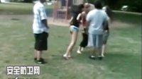 女人打架 - 罕见的女人之间一拳KO