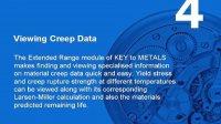 KEY to METALS(金属指南)Extended Range教程4:金属蠕变断裂数据