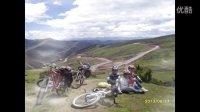 骑行西藏 川藏南线 国道G318 拉萨 骑行者 山地车长途骑行