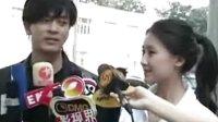 娱乐快报:《机器侠》拍摄现场 甘薇透露主题曲MV歌词