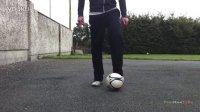 Step by Step 花式足球教程 膝盖拍球式起球