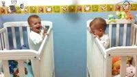 【时光】玩上瘾的可爱双胞胎谁也不想睡!
