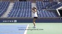 2011美国网球公开赛 莎娃赛前训练 1