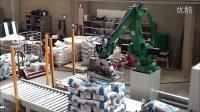 柯马机器人  食品包装  码垛  面粉包装生产线